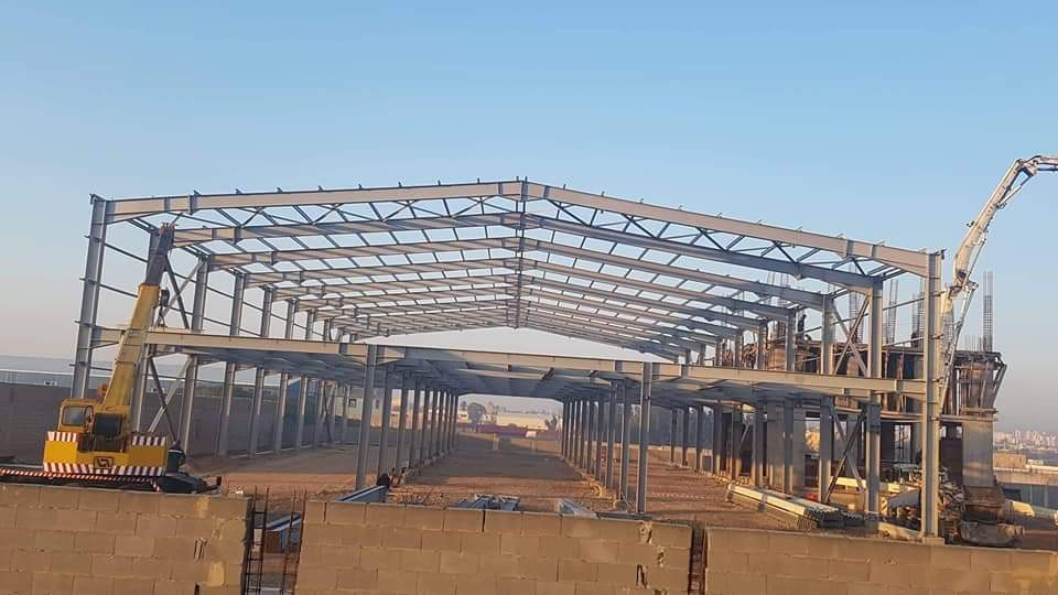 bâtiment industriel algérie charpente métallique et génie civil
